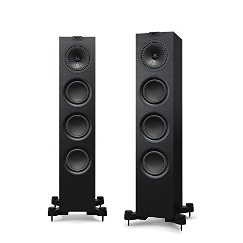 KEF Q550 Floorstanding Speaker (Each, Black) by KEF
