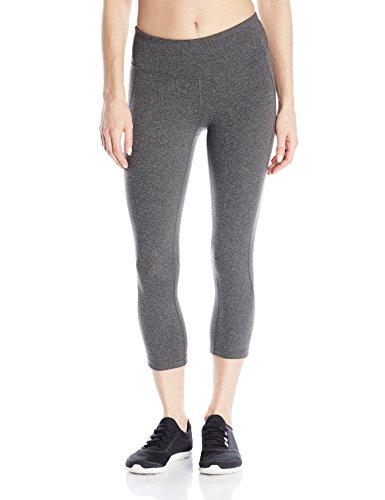 New Balance Women's Premium Performance Capri Pants, Heather Charcoal, Small New Balance Womens Comfort Pant