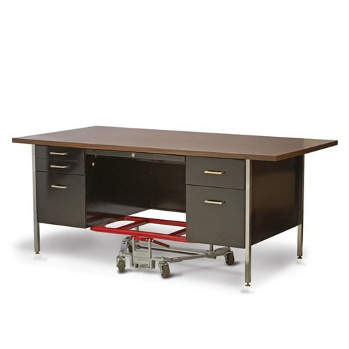 Desk Modular Executive (Raymond Products Desk Lift 2.5 in. Casters)