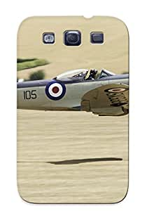 Catenaryoi Scratch-free Phone Case For Galaxy S3- Retail Packaging - Supermarine Spitfire
