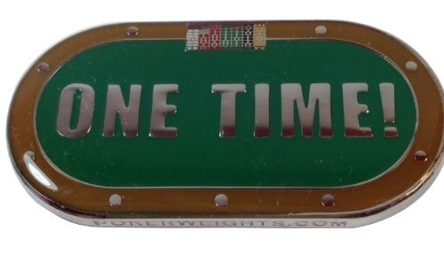 ''ONE TIME!'' Poker Weight Card Cover by pokerweights