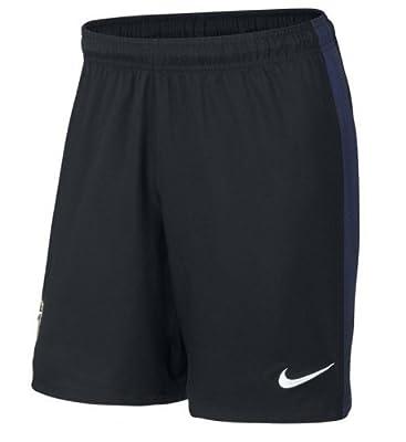 2013-14 Inter Milan Home Nike Shorts (Black) - Kids