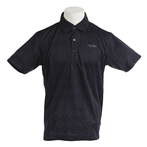 ホンマゴルフ(ホンマゴルフ) アーガイルシャツ 731-419107 BK