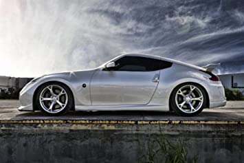 Amazon Com Nissan 370z Nismo 370 Z34 Silver Left Side Hd Poster