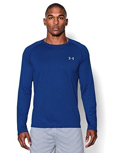 Under Armour Men's Tech Long Sleeve T-Shirt, Royal (400), Small