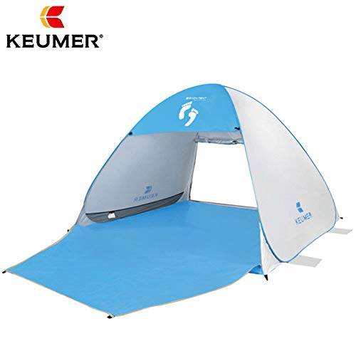KEUMER Automatic Beach,pop up Tent,Sun shelter,Sunshade for 3-4 Persons,Outdoor