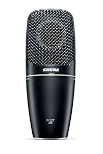 shure pg27 usb multi purpose microphone musical instruments. Black Bedroom Furniture Sets. Home Design Ideas