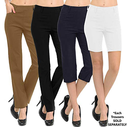 - VIV Collection New Straight Fit Long Trouser Pants (Medium - 34