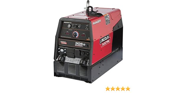 Lincoln Electric Ranger 305 G Multiprocess DC Welder/AC Generator