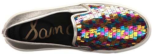 Sam Edelman Womens Elton Sneaker Luminosi Multi Paillettes