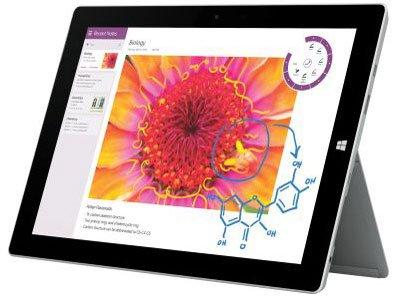 Surface 3(サーフェス) .1 Atom x7 64GB SIMフリー 4G LTE対応 MSSAA1 10.8inchの商品画像