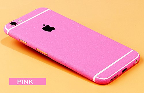 Toeoe Full Body Sticker, iPhone 6 Plus / 6s Plus Matte Skin, Full Body Decal Sticker Film Screen Protector for iPhone 6 Plus / iPhone 6S Plus (Pink)
