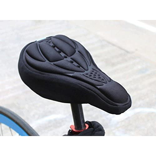 new Cycling Bicycle Bike Seat Pad Saddle Cover Soft Cushion 3D Sponge Silicone Case