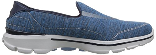 Skechers Performance Womens Go Walk 3 Force Slip-on Scarpa Da Passeggio Blu / Blu