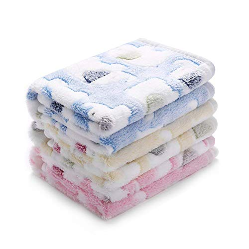 - luciphia Blankets Super Soft Fluffy Premium Fleece Pet Blanket Flannel Throw for Dog Puppy Cat (Small(2316