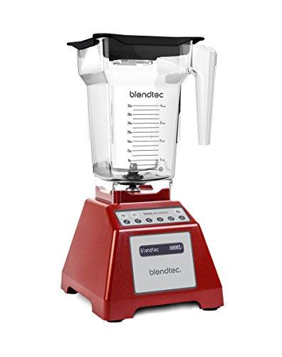 Blendtec Total Blender, FourSide Jar, Red (Blendtec Mixer)