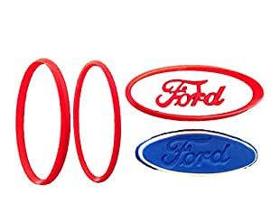 Ford Logo Cookie Cutter Set (4 inches)