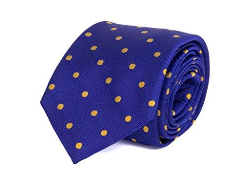 40 Colori yellow Tie Blue Multicolor Men Royal 88Ppr0