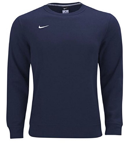 Team Crew Sweatshirt (Nike Team Club Fleece Crew Sweatshirt (Navy/White, XX-Large))