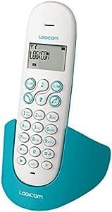 Logicom 150 Luna Blue Teléfono Inalámbrico (Importado): Amazon.es: Electrónica