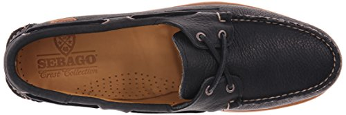 Shoe Men's Black Dockside Crest Boat Sebago wTxnBOHqq
