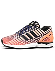 adidas ZX Flux W Womens Shoes Sun Glow/Ink/White aq8230 (10 B(M) US)