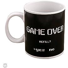 Caneca Termossensivel Gamer Game Over Energy