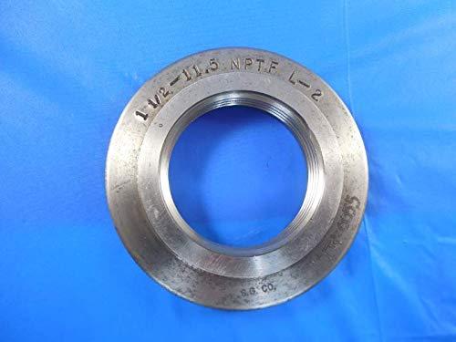 1 1/2 11 1/2 NPTF L2 Pipe Thread Ring GAGE 1.50 11.5 N.P.T.F. L-2