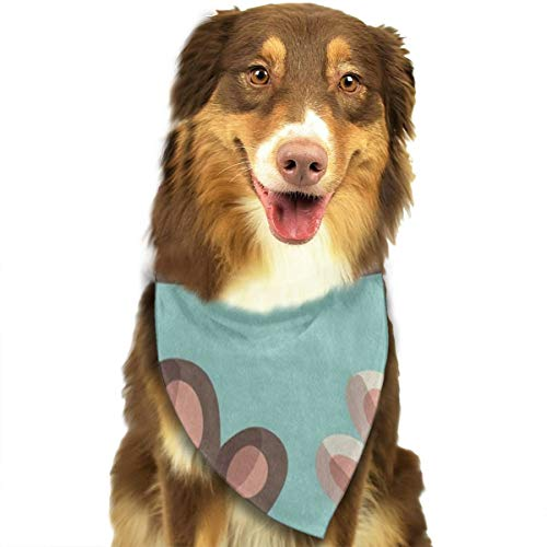 HJudge Dog Bandana Lovely Cat Kitten Paw Dog Scarf Customized Pet Triangle