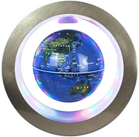 ZHTY Globo de levitación magnética de Tipo O, 4 Pulgadas Giratorio ...
