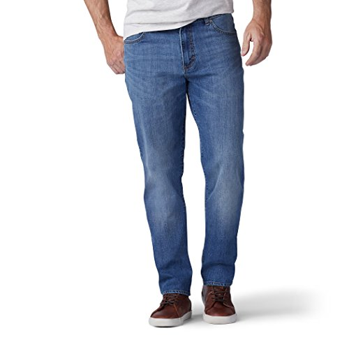 LEE Men's Modern Series Regular Fit Tapered Leg Jean, Kace, 36W x 30L ()