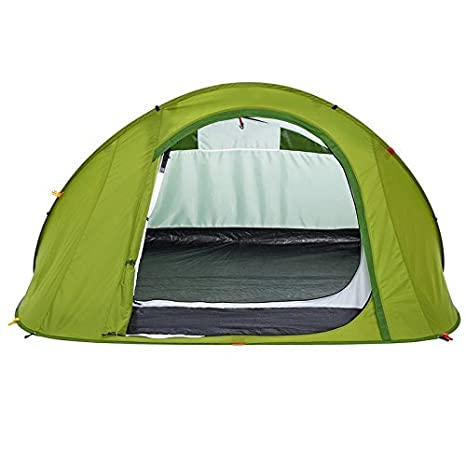 QUECHUA 2 SECONDS Easy Pop-Up Tent 3 Pop-Up Play Tent olive green Amazon.co.uk Sports u0026 Outdoors  sc 1 st  Amazon UK & QUECHUA 2 SECONDS Easy Pop-Up Tent 3 Pop-Up Play Tent olive green ...
