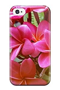 High Quality Shock Absorbing Case For Iphone 4/4s-frangipani