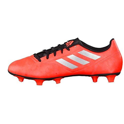 adidas Herren Fussballschuhe Conquisto II FG Solar Red/Silver Met./Core Black 48 2/3