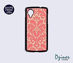 Nexus 5 Case - Old Pink Damask iPhone Cover