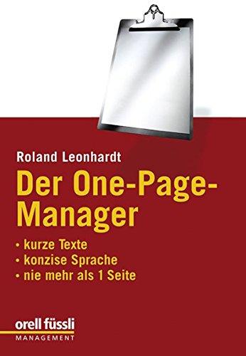 der-one-page-manager-kurze-texte-konzise-sprache-nie-mehr-als-1-seite