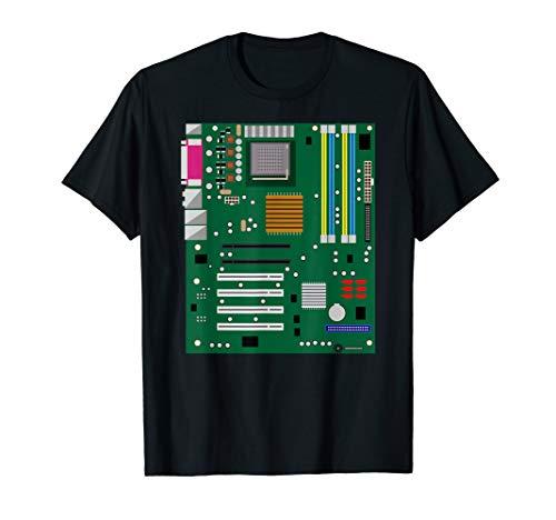 Computer Engineering T-Shirt I Motherboard Hardware Admin T-Shirt