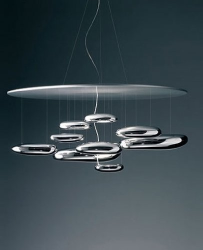 Mercury chandelier | Suspension - 220 - 240V (for use in Australia, Europe, Hong Kong etc.), LED