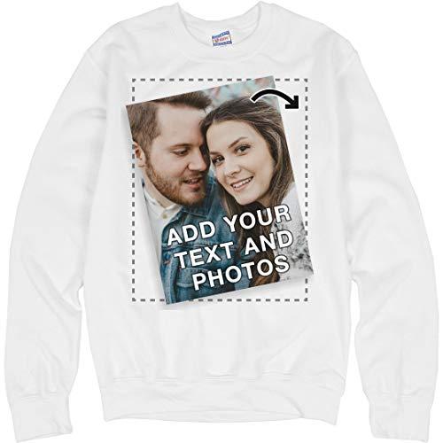 Create A Custom Sweatshirt: Unisex Ultimate Crewneck Sweatshirt - Sweatshirt Crewneck Custom