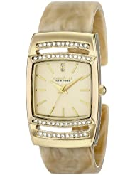 Caravelle New York Womens 44L142 Analog Display Japanese Quartz Watch