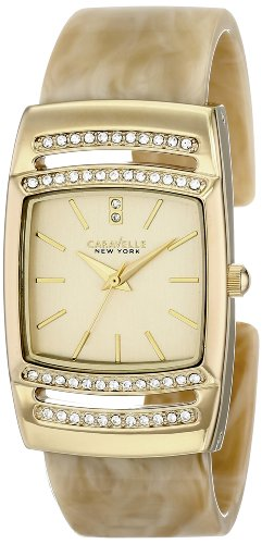 Caravelle New York Women's 44L142 Analog Display Japanese Quartz Watch