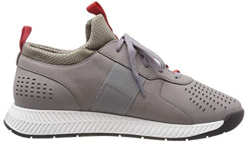 lux Sneakers Basses Titanium BOSS Athleisure Runn Homme Grey 030 Medium Gris IRtwqRP