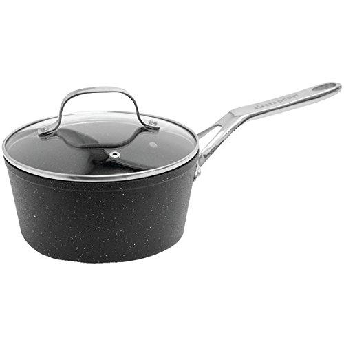 Starfrit 2 qt. Saucepan with Glass Lid,Black from Starfrit