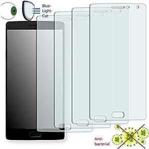 4x DISAGU ClearScreen Protector de pantalla para OnePlus Two antibacteriano, filtro de corte Bluelight–Protector de pantalla