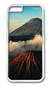 MOKSHOP Adorable Landscapes 7 Hard Case Protective Shell Cell Phone Cover For Apple Iphone 6 (4.7 Inch) - PC Transparent