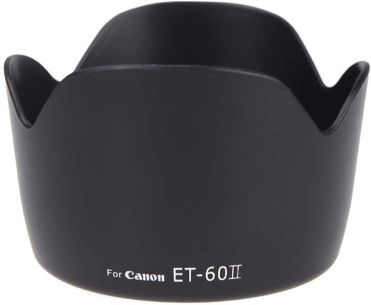 Raitron ET-60II Flower Lens Hood for Canon EF 75-300MM F//4-5.6 III EF-S 55-250mm f//4-5.6 is