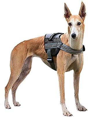 Perro Arnés Pyrus suave reflectante no tirar perro arnés correa de ...