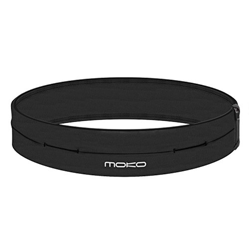 MoKo Running Belt Taille Pack, Universele Outdoor Sport Taille Fanny Pack, Oefening Fitness Workout Taille Pouch Tas…