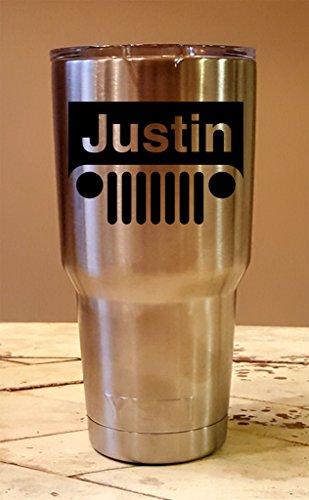 Personalized YETI 30 oz.Tumbler JEEP CUSTOM Laser Engraved