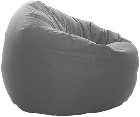 GlueckBean Bodenkissen Sitzsack Sessel 2 in 1 Funktion Outdoor Indoor mit F/üllung Sitzkissen Kissen 100cm Durchmesser, Pink